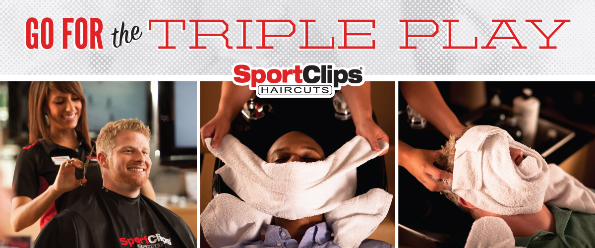 The Sport Clips Haircuts of Kapolei Triple Play